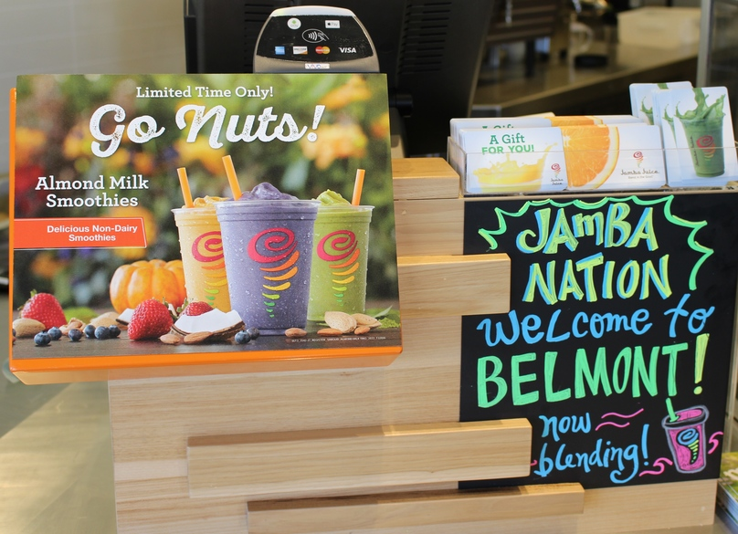 Carlmont Village Shopping Center Welcomes Jamba Juice Back Into The Community On Aug 29