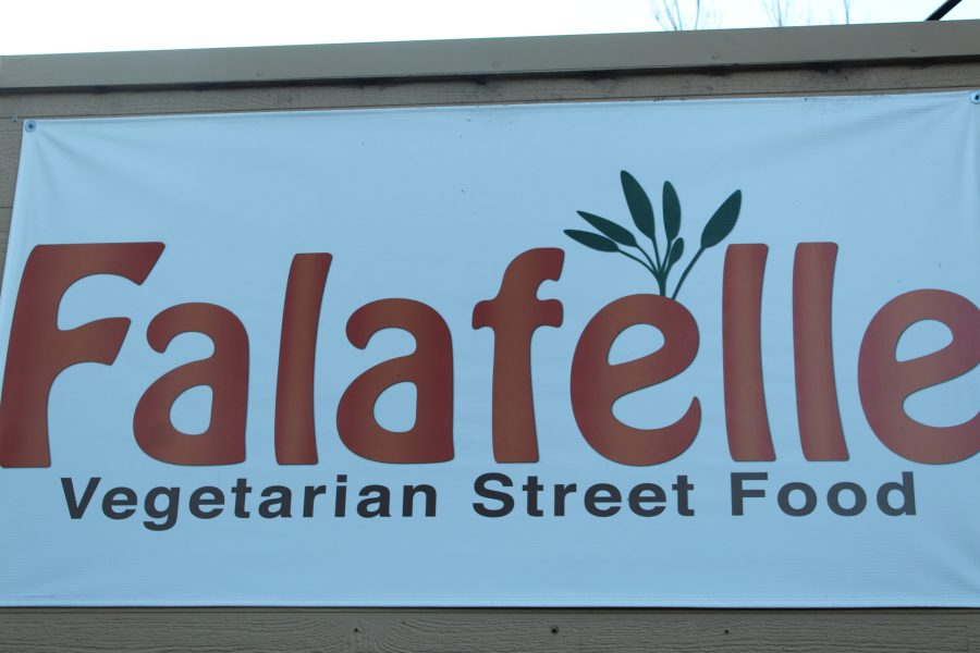 Falafelle serves vegetarian street food, which was healthy and surprisingly good.