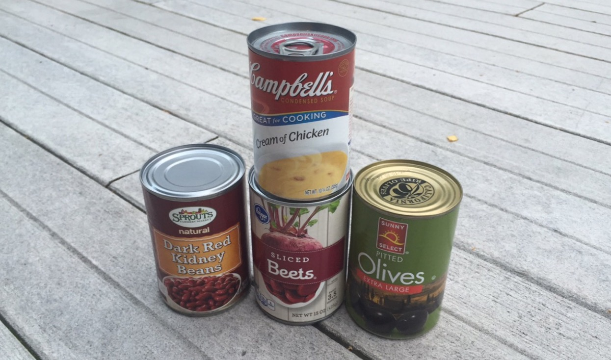 From Nov. 1 to Nov. 18, students can bring canned foods and non-perishables to their second-period classes to donate to those in need.