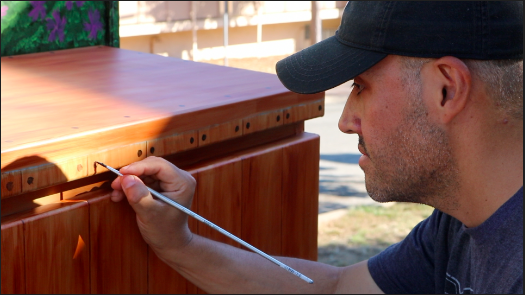 San Carlos residents strive to add a creative element to their community.
