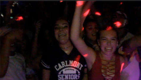 Homecoming dance had students vibin'