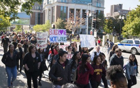 Bay Area students protest Trump victory