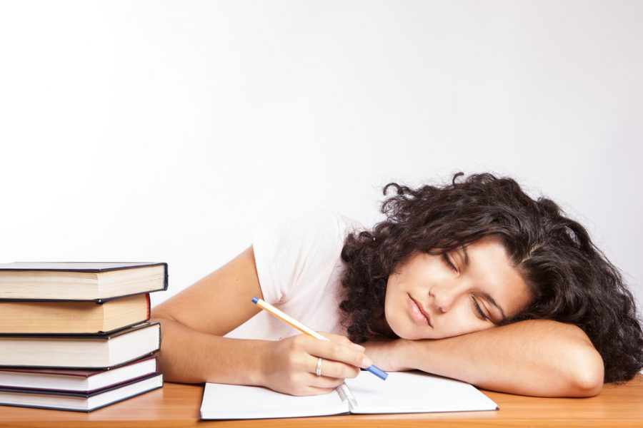 High school students struggle to balance sleep with breakfast, resulting in deprivation of energy needed to learn.