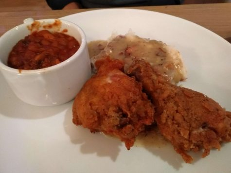 With a touch of spiciness, along with an excellent crisp, the fried chicken becomes a must have.