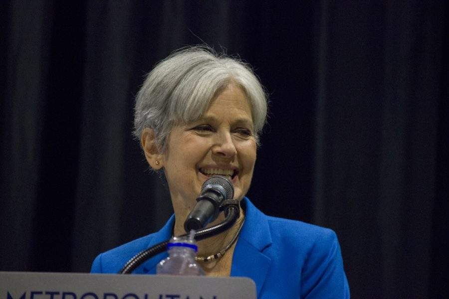 Jill+Stein+did+not+win+the+election%2C+but+is+currently+leading+a+voter+recount+effort+to+ensure+that+the+voting+was+not+%22tampered+with.%22