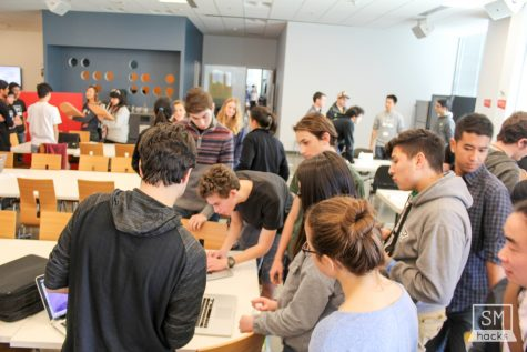 The Hackathon: Students code the day away