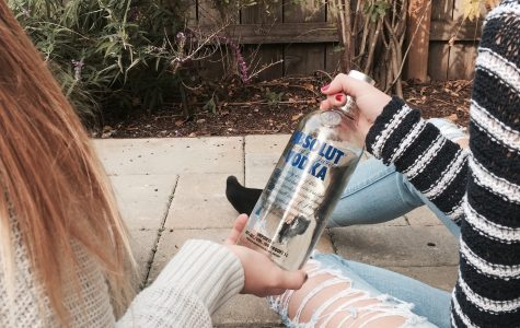 In high school, many students feel pressured to drink at parties or when they're with their friends.