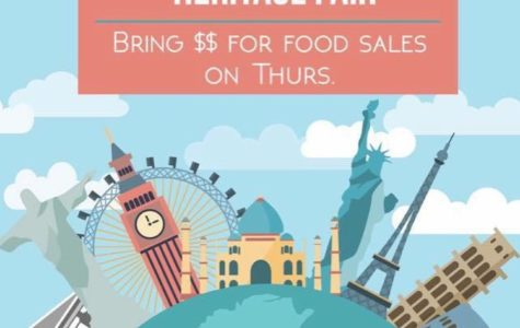 The food sale during lunch on Feb. 23 gave students an opportunity to explore other cultures.