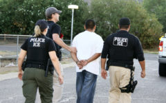 Immigration and Customs Enforcement officers arrest an undocumented immigrant and transfer him to a detention facility where it could take him several months to receive a bond hearing.