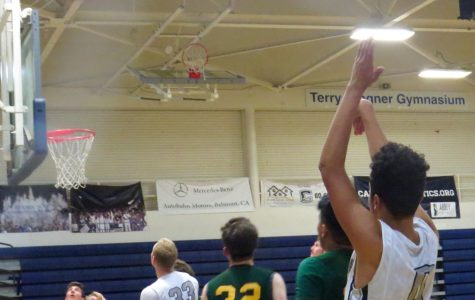 Sophomore Lajuan Nelson shoots for a 3-pointer against Capuchino in the third quarter.