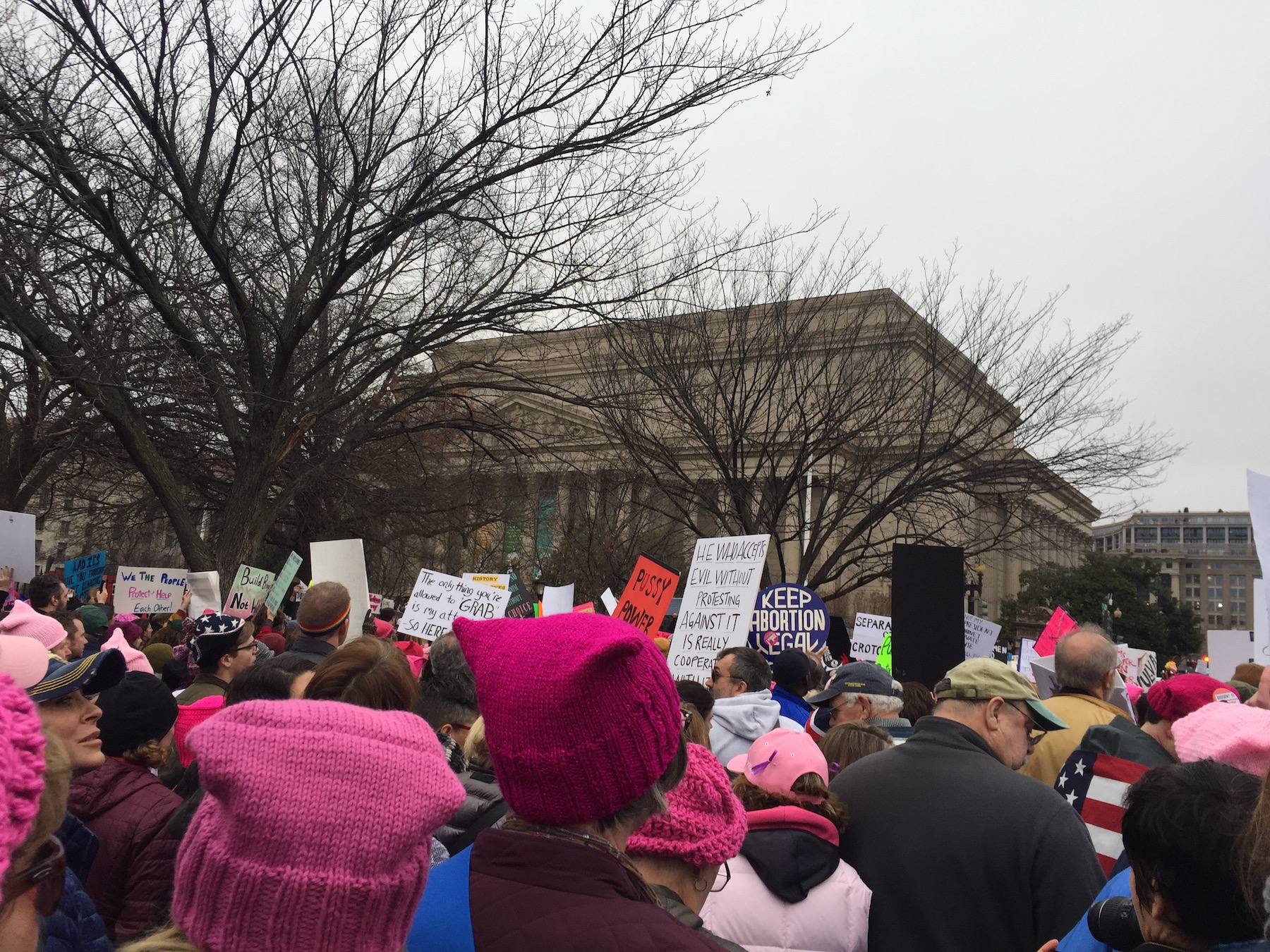 Thousands+march+down+the+streets+of+D.C.