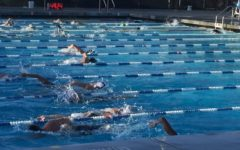 Carlmont swim team starts their preseason with a splash