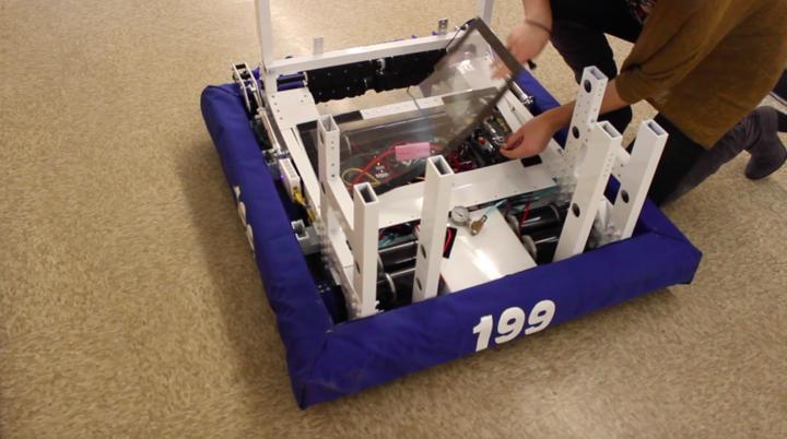 Robotics prepares for competition