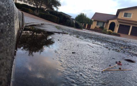 Rain helps wash away California's drought
