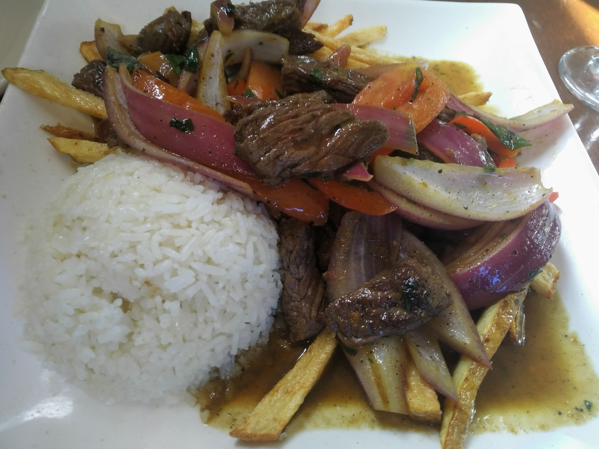 A+very+flavorful+meal%2C+chock+full+of+steak+and+french+fries+soaked+in+the+juices.