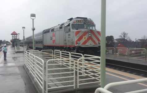 The iconic red-striped and boxy shape of the Caltrains will remain the same until the Caltrain Electrification project receives the $617 million it needs.
