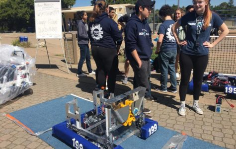 Rally shows off robotics team's success