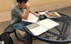 Cody Vo does homework for multiple classes with little sleep due to Daylight Saving Time.
