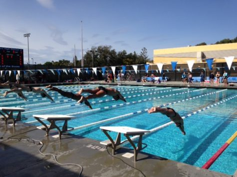 Carlmont swim team prevails against Woodside