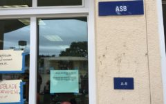ASB posted the interview results on the window just next to the door of room A-8.