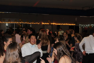 SAC students along with other students gathered for a fun night of stress-free, inclusive dancing at the Morp dance.