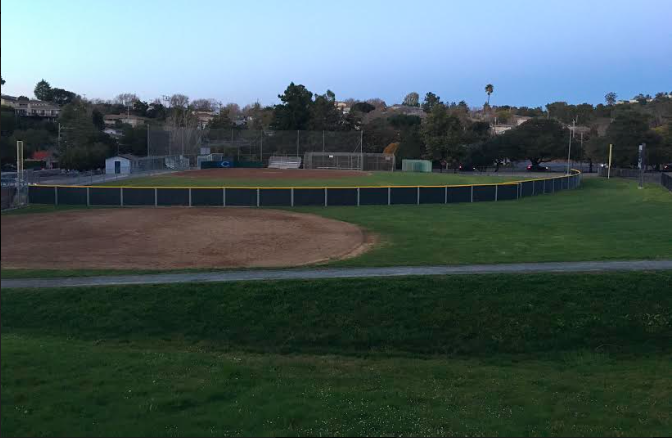 The Jim Liggett field is the varsity girls softball home field.
