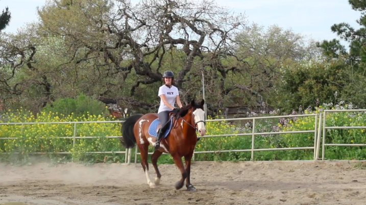 Julia Kelly's fellow rider helps her discover her passion