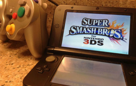 James Bennett uses his  3DS and controller for the Super Smash Bros Club to participate in events, tournaments, and brawls.