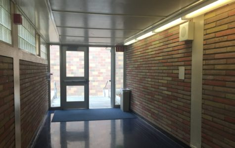 The many hallways of Carlmont High School  will be explored by parents during open house.