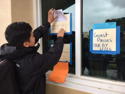ASB president leaves his mark on Carlmont
