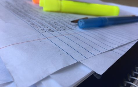 As AP testing approaches, students' afternoons are spent poring over months of notes to prepare.