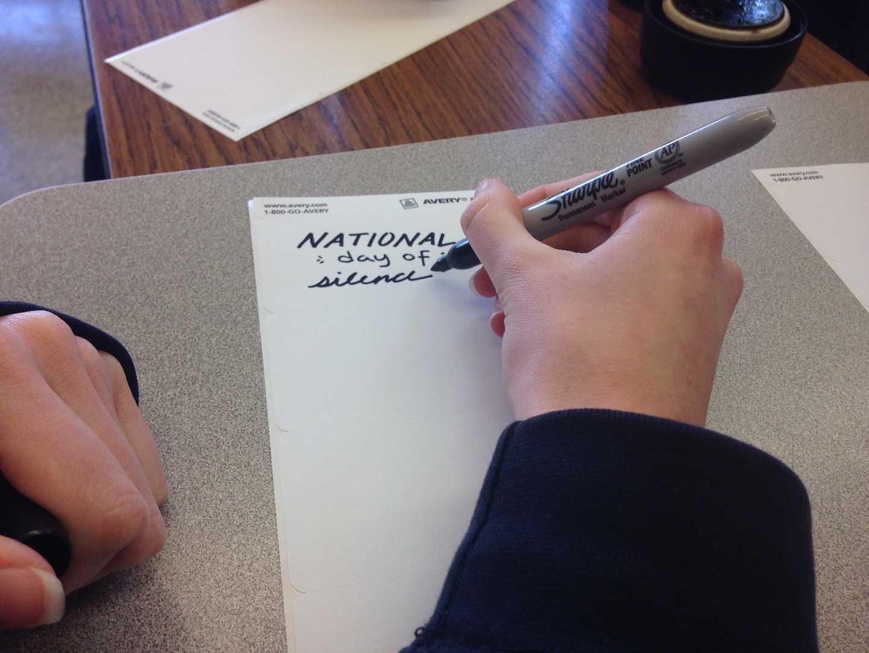 GSA club members write
