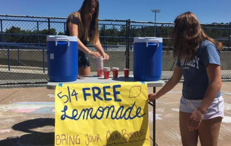 Lunchtime lemonade promotes environmental friendliness