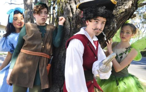 "From April 28 through April 30, Ralston Middle School performed the musical ""Peter Pan Jr."