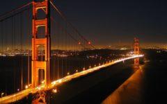 Teens scale the Golden Gate Bridge