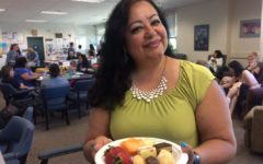 Teachers are showered with food and appreciation