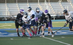 Varsity lacrosse crushes rivals during senior night