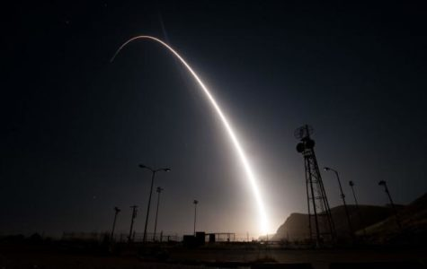 U.S. Air Force performs missile tests on California coast