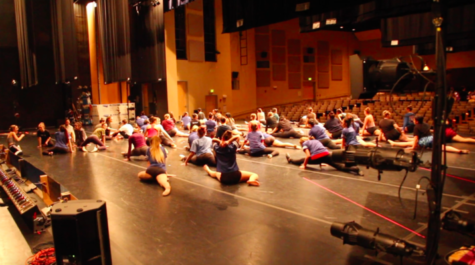 Behind the curtains of the Carlmont Dance Show