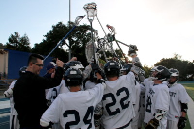Boys varsity lacrosse finishes on a strong note