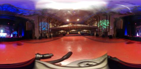 Winter formal dance floor