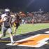 Varsity Football emerges victorious versus the Woodside Wildcats