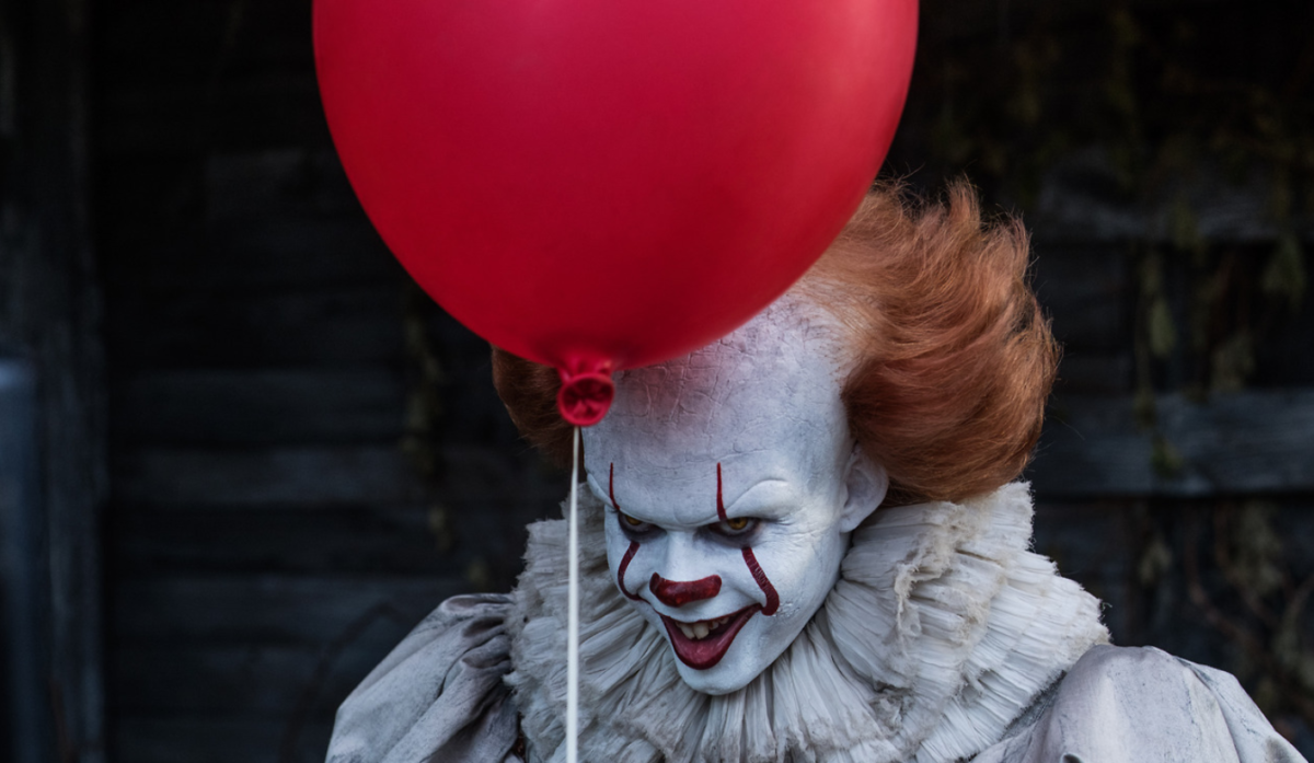Bill Skarsgard plays Pennywise in Andy Muschietti's horror film