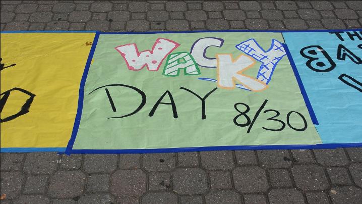 Carlmont celebrates Wacky Wednesday