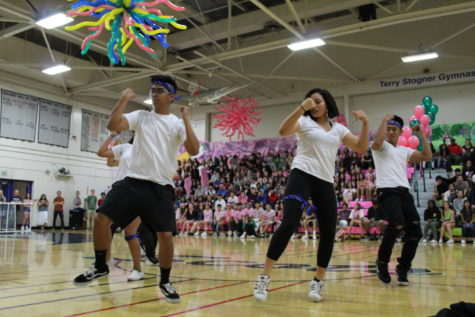 Assembly reveals homecoming's true colors