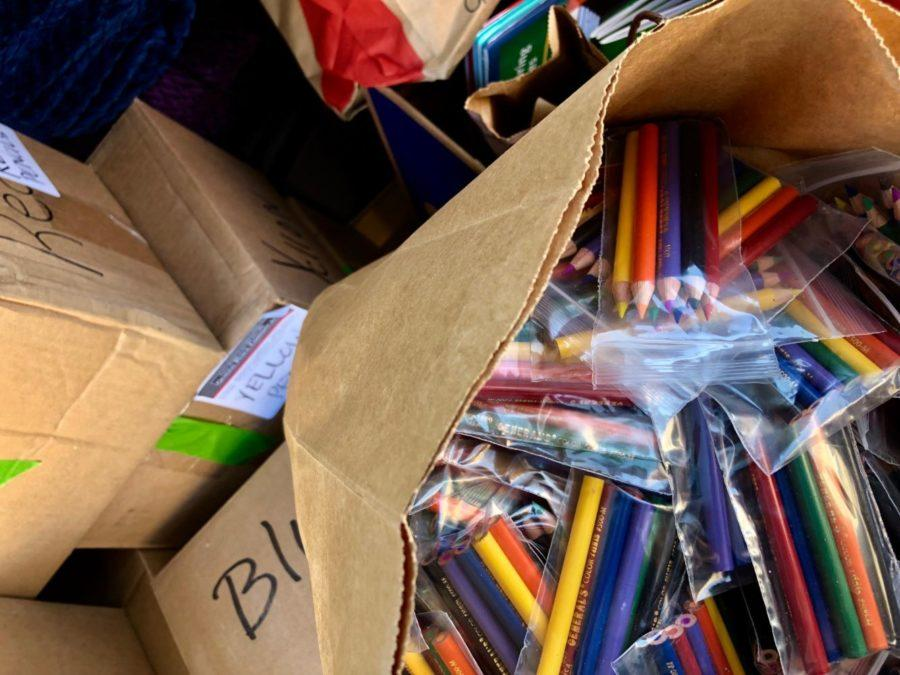 General's Pencils donated some of their products to evacuation centers in northern California.