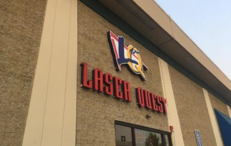 Storefront of the new Laser Quest.