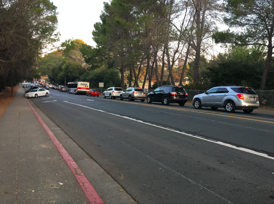 For many students, traffic before school is an issue they must account for. Traffic is especially bad before first period.