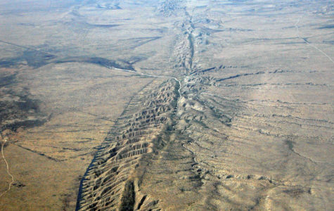 The San Andreas fault is where many minor earthquakes happen and where a major earthquake could occur in the future.