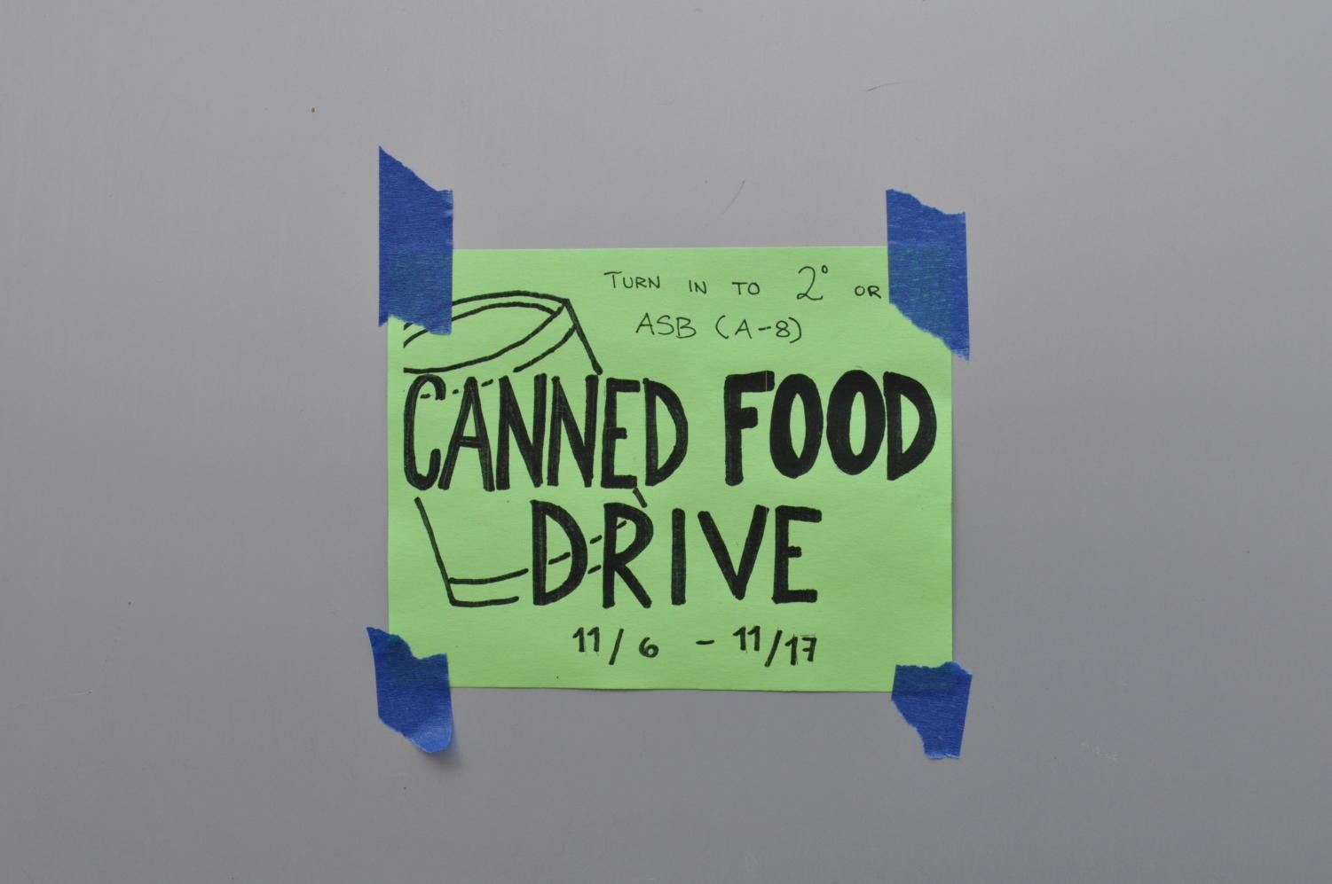 ASB+posts+little+signs+on+students%27+lockers+to+remind+them+to+donate.
